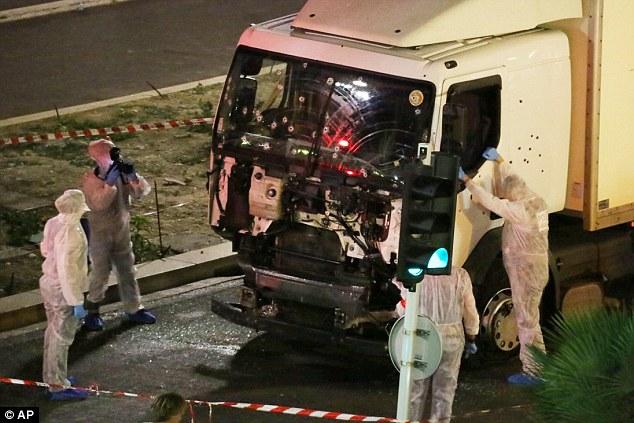 The 31-year-old Tunisian used a 19-tonne lorry to slaughter 86 people celebrating Bastille Day on the Nice waterfront on July 14 last year before being shot dead by police