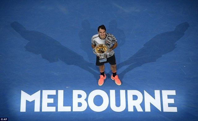 Federer is just one Australian Open title behind the all-time leadersNovak Djokovic and Roy Emerson