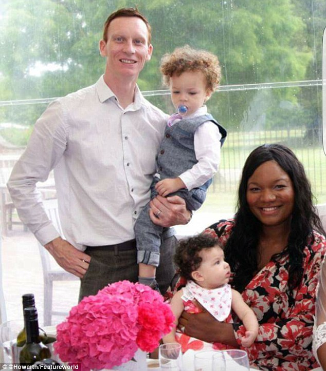 Catherine Howarth, who is of Nigerian hertiage, is believed to be the only black woman in the world to give birth to two white, blue-eyed children, the odds of which are millions-to-one