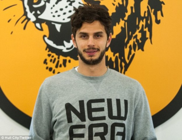 Andrea Ranocchia could make his debut for Hull at Old Trafford on Wednesday night