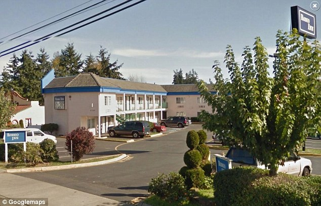 The 24-year-old had arranged to meet the alleged victim at the Rodeo Inn motel room in Lynwood, Washington