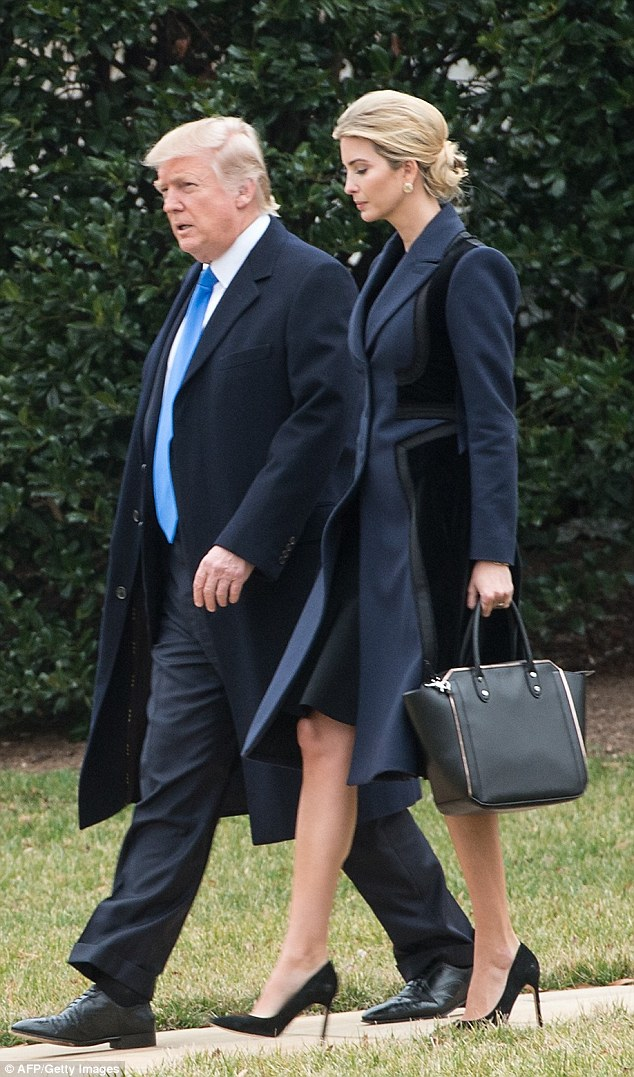 Ivanka has been filling in for some traditionally first lady roles with Melania in New York