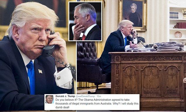 Donald Trump slams Malcolm Turnbull as worst call ever