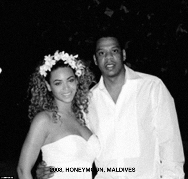 Honeymooning! The couple, who share a 12 year age gap, were pictured on their honeymoon nine years ago