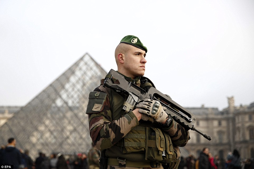 Paris is on a high state of terrorist alert following murderous attacks by Islamic State operatives in 2015