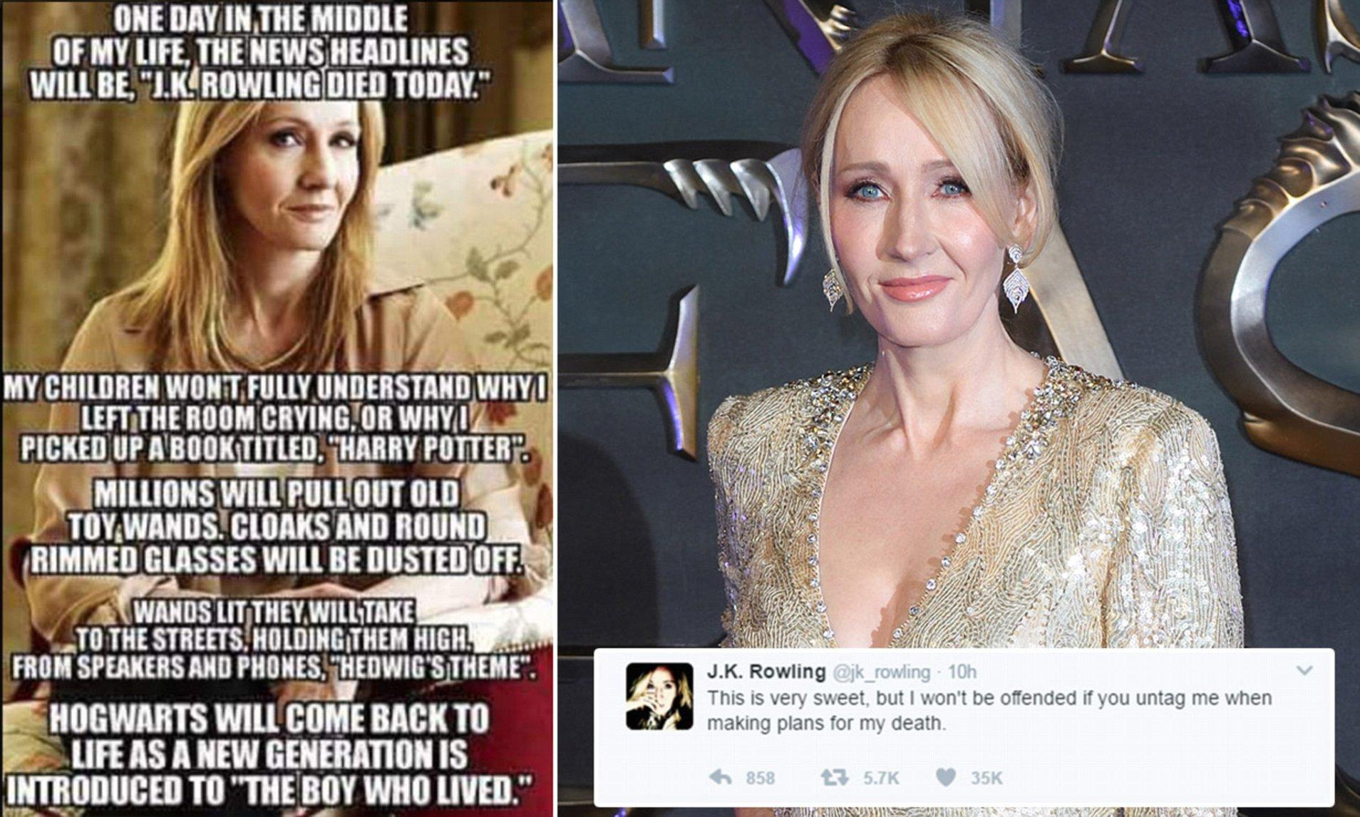 Shocked Rowling A J K Rowling Meme