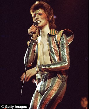 Scientists may have finally discovered the link between musical pleasure and the sex, drugs and rock 'n' roll lifestyle. Stars like David Bowie (pictured) embody the myth of the hedonistic rock star