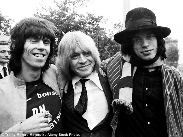 Researchers found a connection between opioids in the brain and enjoyment in music. This image shows Keith Richards (left), Brian Jones (centre) and Mick Jagger (right) of the Rolling Stones after Jones narrowly avoided a jail sentence for possession of cannabis