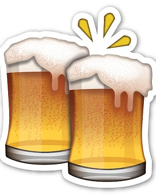 The beer glasses can have the same meaning