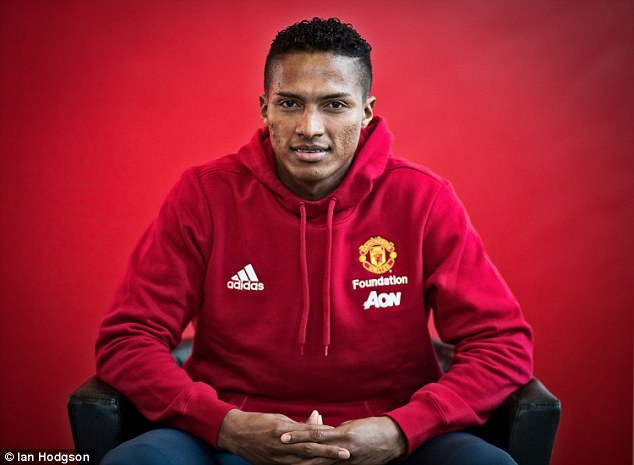Image result for Antonio Valencia  Manchester United has told this player he is free to leave 3CF8CD4600000578 0 image a 16 1486760364116