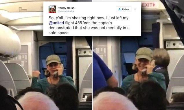 United Airlines pilot removed from flight after rant