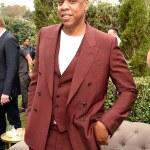 Jay Z's Dapper Style At The Roc Nation Pre-Grammy Brunch