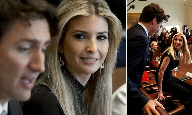 Ivanka Trump meets with Canadian PM Justin Trudeau