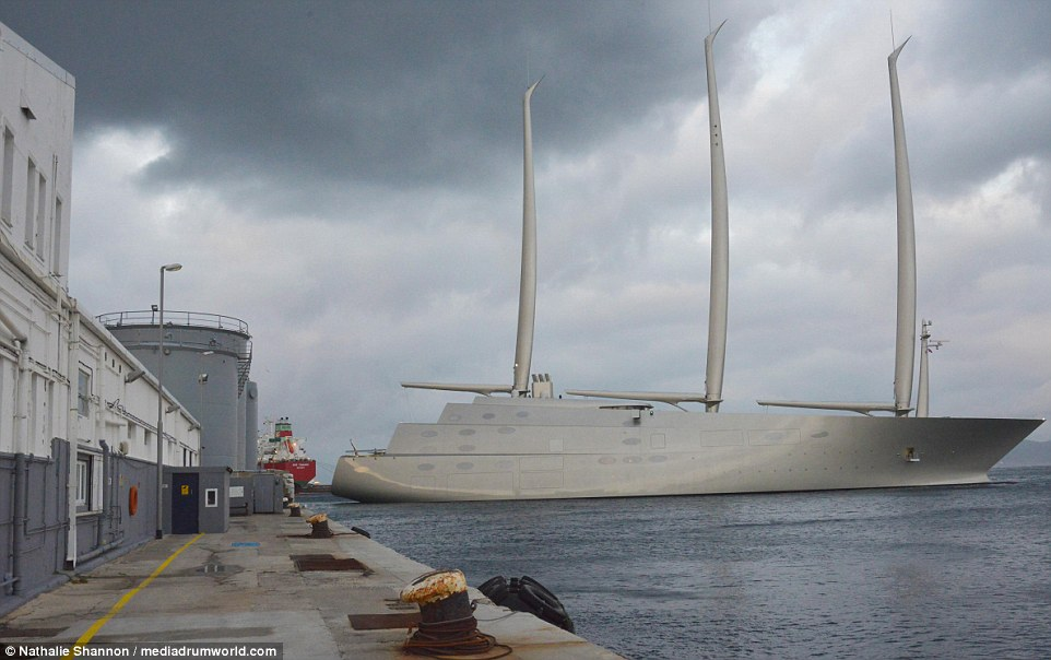Russian Billionaires 360 Million Superyacht Is IMPOUNDED