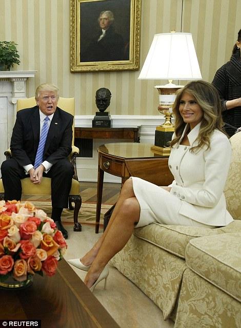 Melania and Trump
