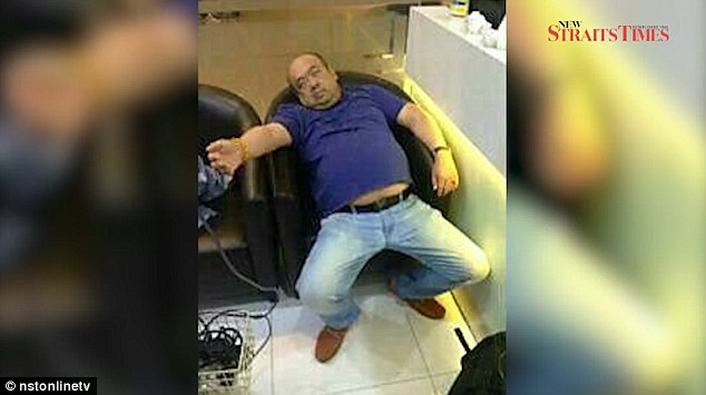 Kim Jong Nam, pictured, died shortly after the hit squad administered the poison on Monday