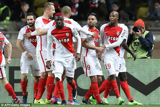 Monaco are heading to Manchester City on Tuesday night for their last-16 encounter