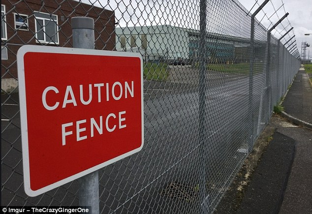 The question is, what is it about this particular fence that requires us to exercise caution?