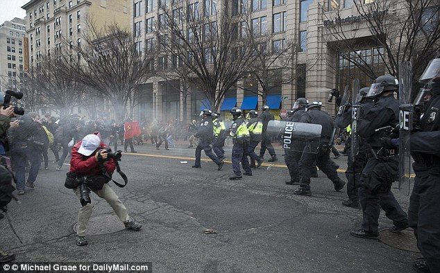 A grand jury in Washington, DC, charged five individuals on Tuesday in connection to protests that broke out on Inauguration day.Another 209 defendants were indicted on rioting charges earlier this month
