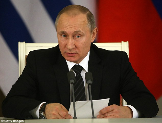 The spike in Iodine-131 has sparked speculation that Russian president Vladimir Putin is testing nuclear weapons in Novaya Zemlya near the Arctic