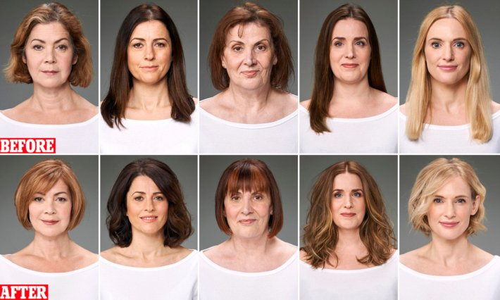 the haircuts as anti-ageing as a facelift!   daily mail online