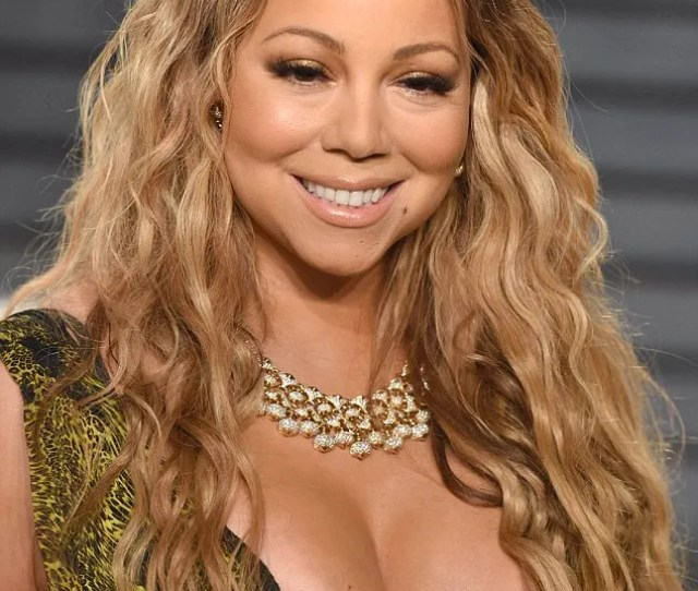 Mariah Carey Suffered A Nip Slip As She Attended The 2017 Vanity