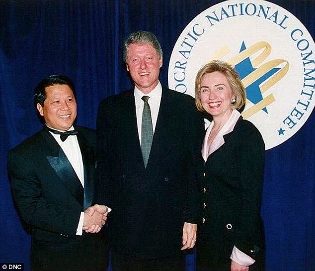 Financial help from foreign governments goes back to a little-talked-about story of Hillary and Bill's relationship with China that began at the Fu Lin Chinese Restaurant in Little Rock, Arkansas during Clinton's days as governor. and their friendship with Charles Yah Lin Trie (above with the Clintons) , a fry cook in the kitchen who eventually became co-owner