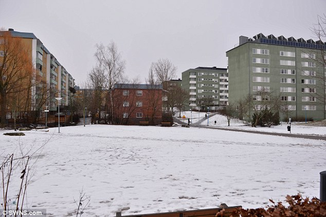 Rinkeby is one of a few no-go zones in the city of Stockholm, Sweden. This is home to many of Sweden's migrant population and is where police clashed with rioters last week