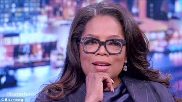 'Oh! Oh!' Oprah Winfrey said she has rethought whether she could run for president since Donald Trump won the job without the customary qualifications