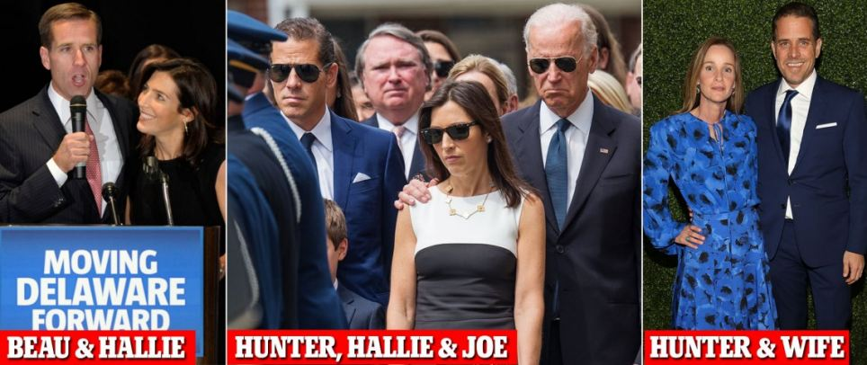 Beau Biden's widow in a relationship with brother Hunter