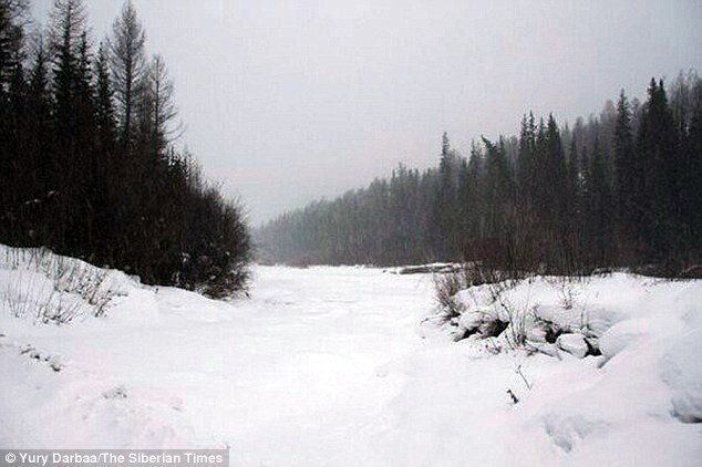 Girl 4 Walks Five Miles Through Siberia After Gran Dies Daily Mail Online