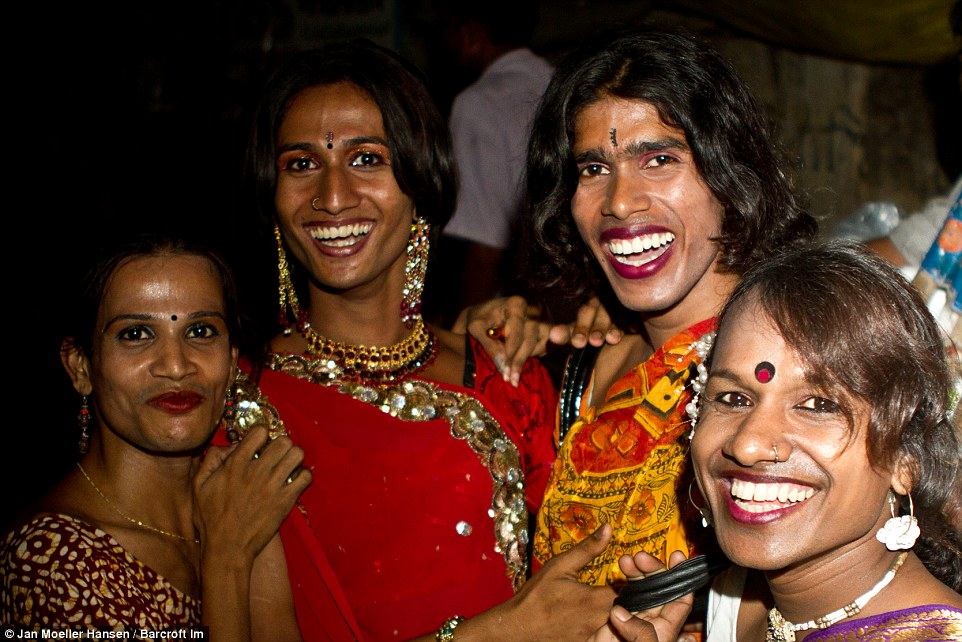 Image result for hijras on a bus