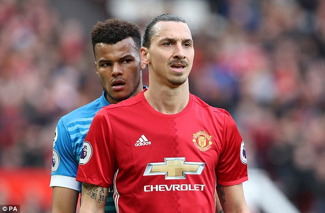 The pair came together in Saturday's game between Manchester United and Bournemotuh