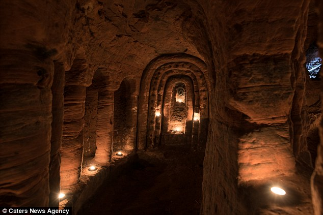 It is as chilling as the catacombs and a lot more mysterious. Of all the possible refugees who might have holed up here, the Knights  are prime contenders