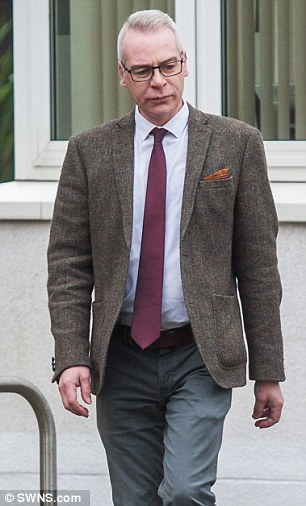 Guilty: Vasco-Knight's husband Stephen also pleaded guilty to one count of fraud and was spared jail but ordered to do 150 hours of community service