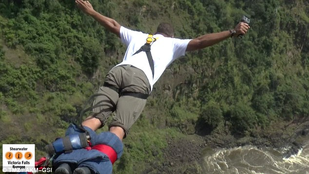 Image result for Hollywood Actor Will Smith Bungee Jumps Off Victoria Falls Bridge