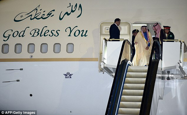 Saudi Arabia's King Salman arrives in Japan as part of a four-day visit on his Asian tour