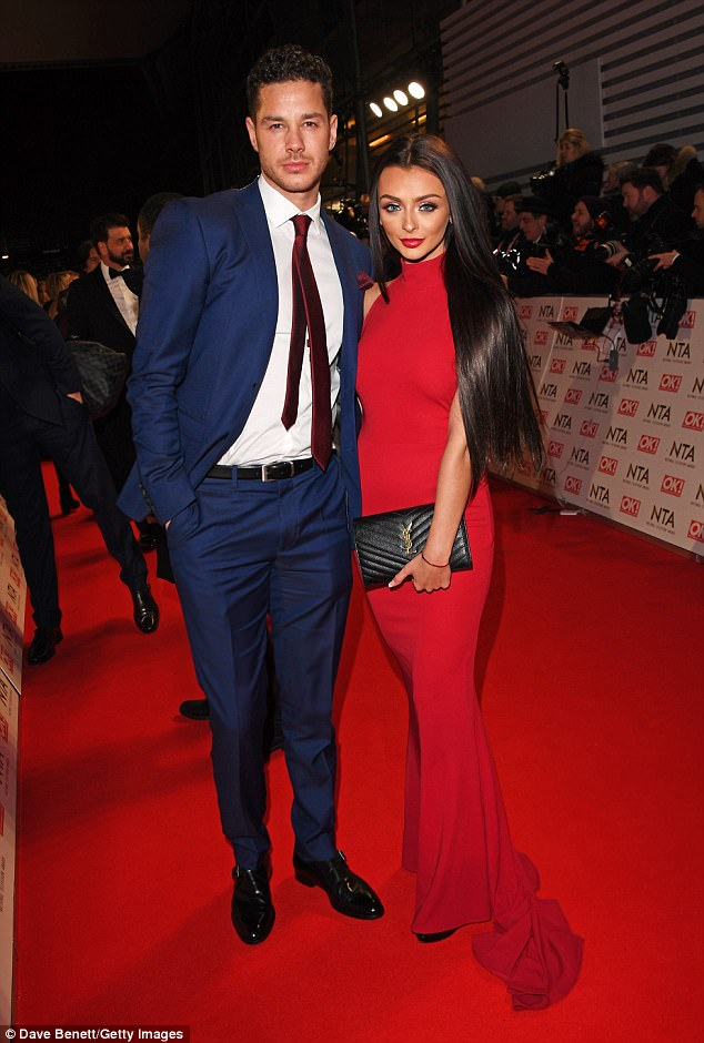 Big plans: Following their stint as one of the fan favourite couples on last year's edition of Love Island, Kady and Scott are still going strong and reveals she is hoping for a romantic proposal
