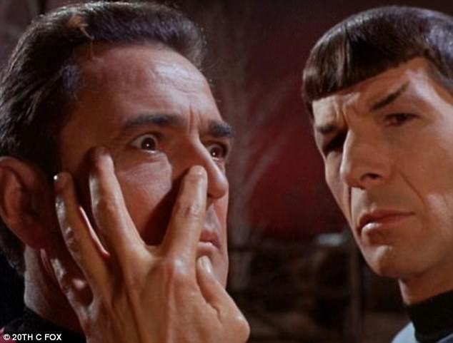 Science fact? Harnessing the power of the mind was a favourite of science fiction, including Star Trek's Vulcan mind meld