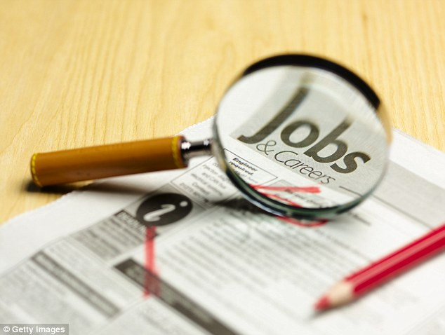 On the hunt: Job hunting is a sign that people feel comfortable about the range of opportunities available on the job market - an indication that the economy is growing