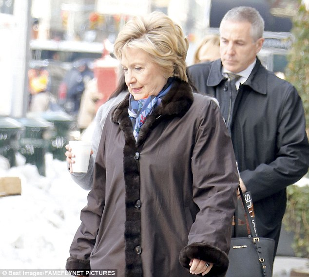 If at first you don't succeed...: Rumors continue to circulate that Hillary could be considering a run for mayor in New York City later this year