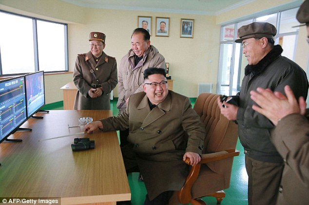 North Korean leader Kim said in January his country was close to test-launching an intercontinental ballistic missile. That would put parts of the United States in range