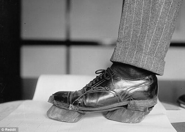 In 1922 when the US was  under prohibition law, 'Moonshiners' who brewed illegal alcohol wore shoes with cow hoof-shaped attachments to avoid their footsteps being followed by police