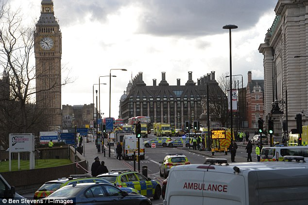 ISIS has claimed responsibility for the attacks which also saw a policeman stabbed to death outside the Houses of Parliament