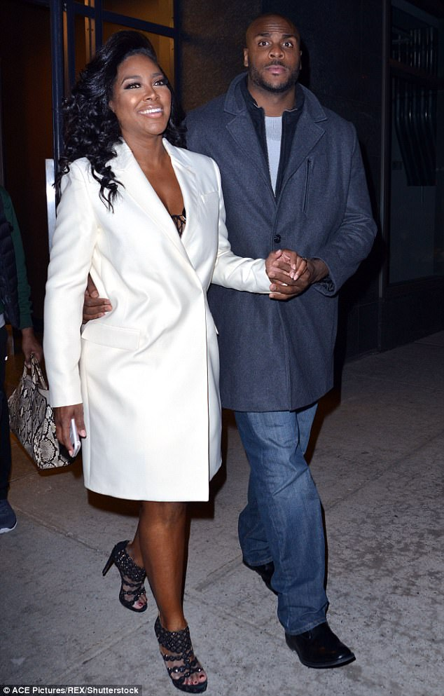 Persona non grata: Kenya Moore's ex Matt Jordan was not asked to join the Housewives for this year's reunion finale. This week, the reality star got a restraining order against her former boyfriend. Above you can see the pair during happier times, in early 2016