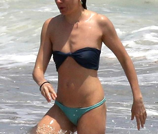 Suits Her The Actress  Was Spotted Soaking Up In The Waves In