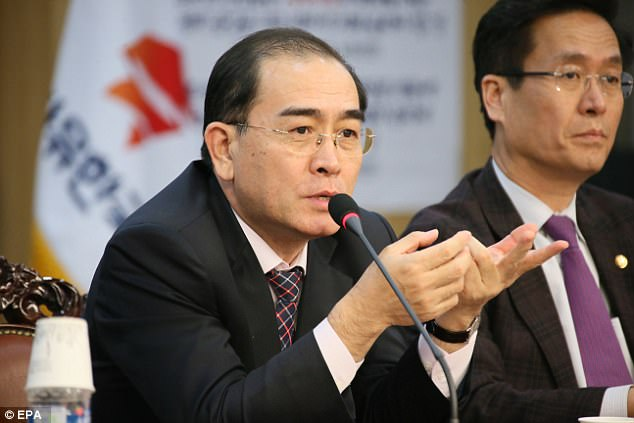 Thae Yong Ho, the most high-profile North Korean defector in two decades, says that the world should be ready if Kim were to fire missiles