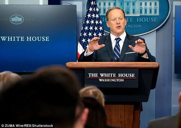White House Press secretary Sean Spicer said Friday that unspecified documents seen by Nunes were uncovered 'in the normal course of business'