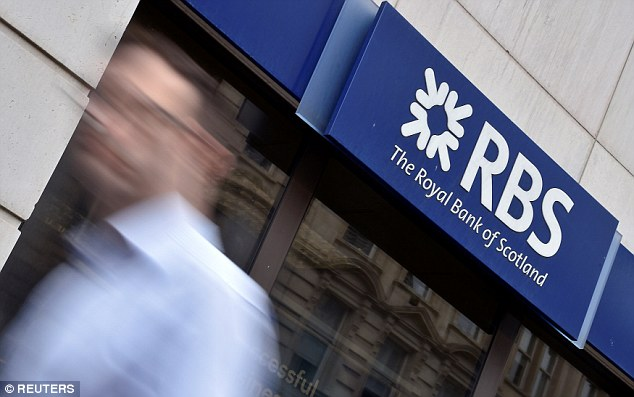 RBS (pictured, stock) and NatWest are offering a one per cent bonus to customer, equivalent to £200 to those who put the full £20,000 in