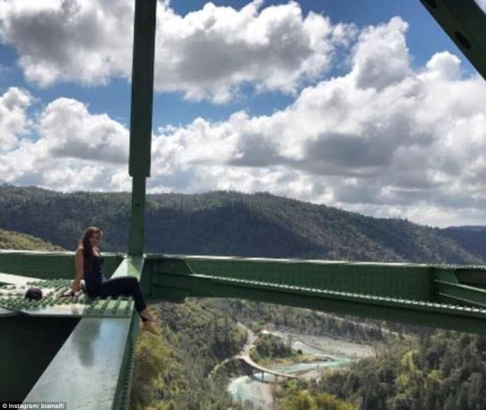 The sheriff's office was forced to increase its patrols near the bridge several years ago when daredevils started flocking to the area in search of risky photos